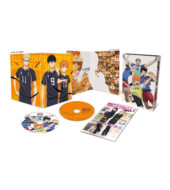 ハイキュー!! セカンドシーズン Vol.2 Blu-ray 初回生産限定版