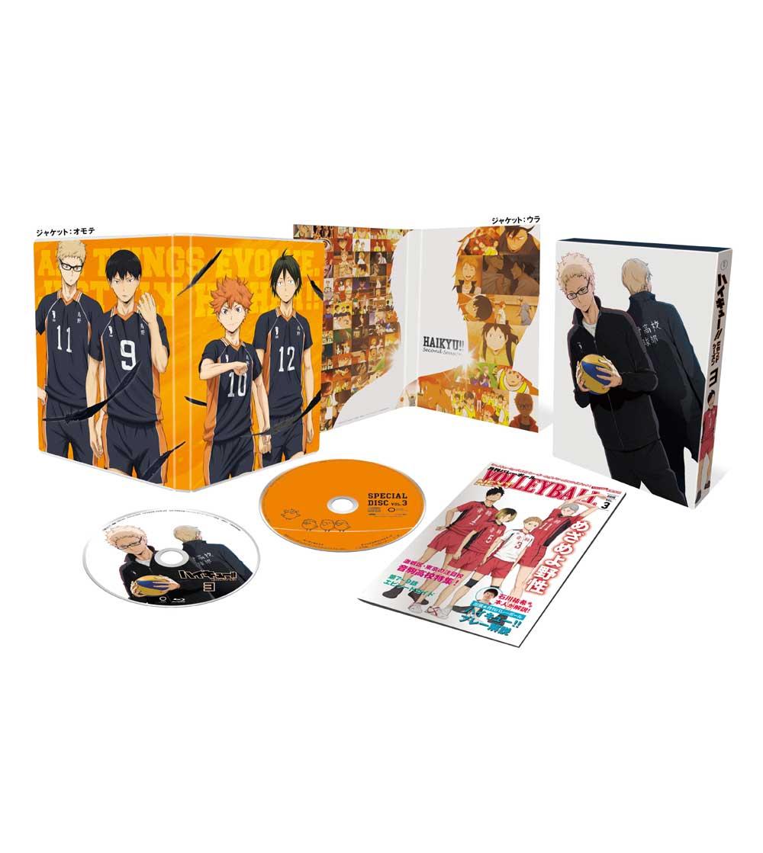 ハイキュー!! セカンドシーズン Vol.3 Blu-ray 初回生産限定版
