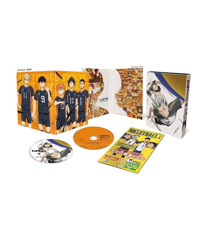 ハイキュー!! セカンドシーズン Vol.4 Blu-ray 初回生産限定版