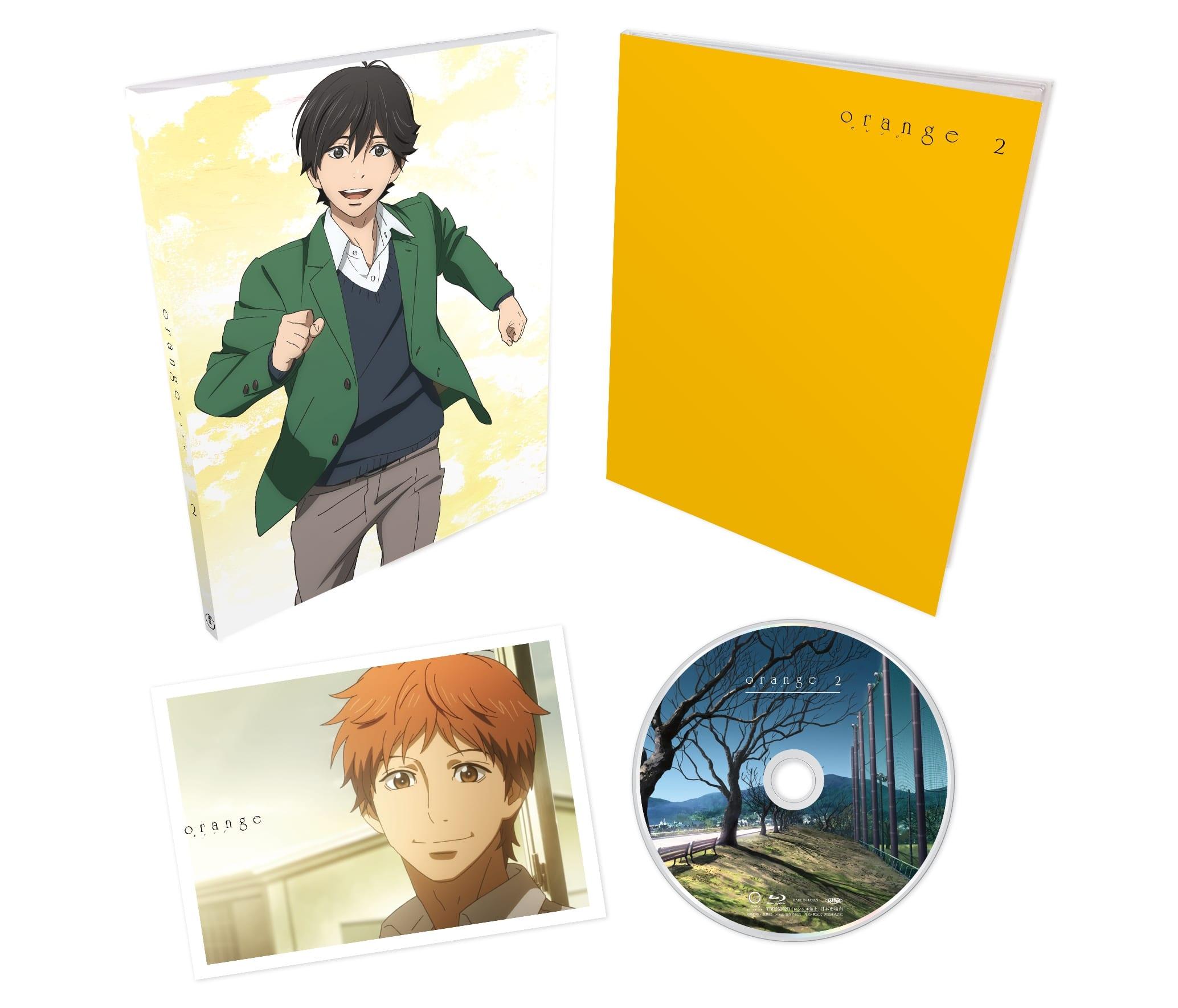 TVアニメ「orange」Vol.2 Blu-ray 初回生産限定版