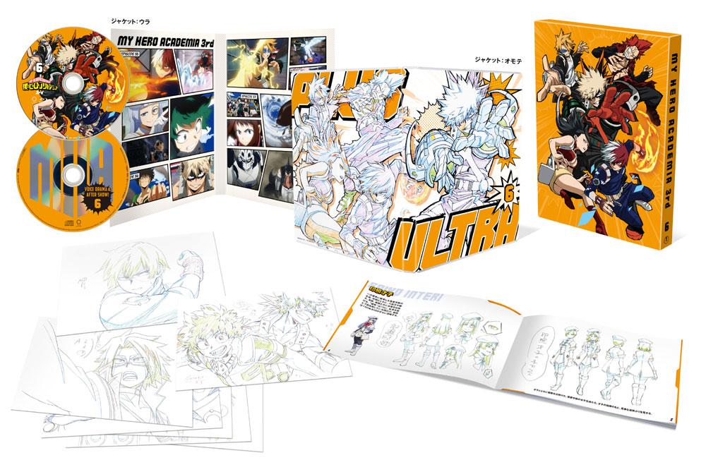 僕のヒーローアカデミア 3rd Vol.6 Blu-ray 初回生産限定版