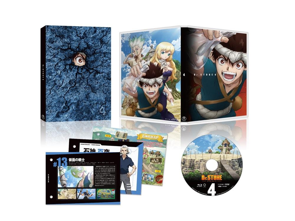Dr.STONE ドクターストーン Vol.4 Blu-ray【初回生産限定版】