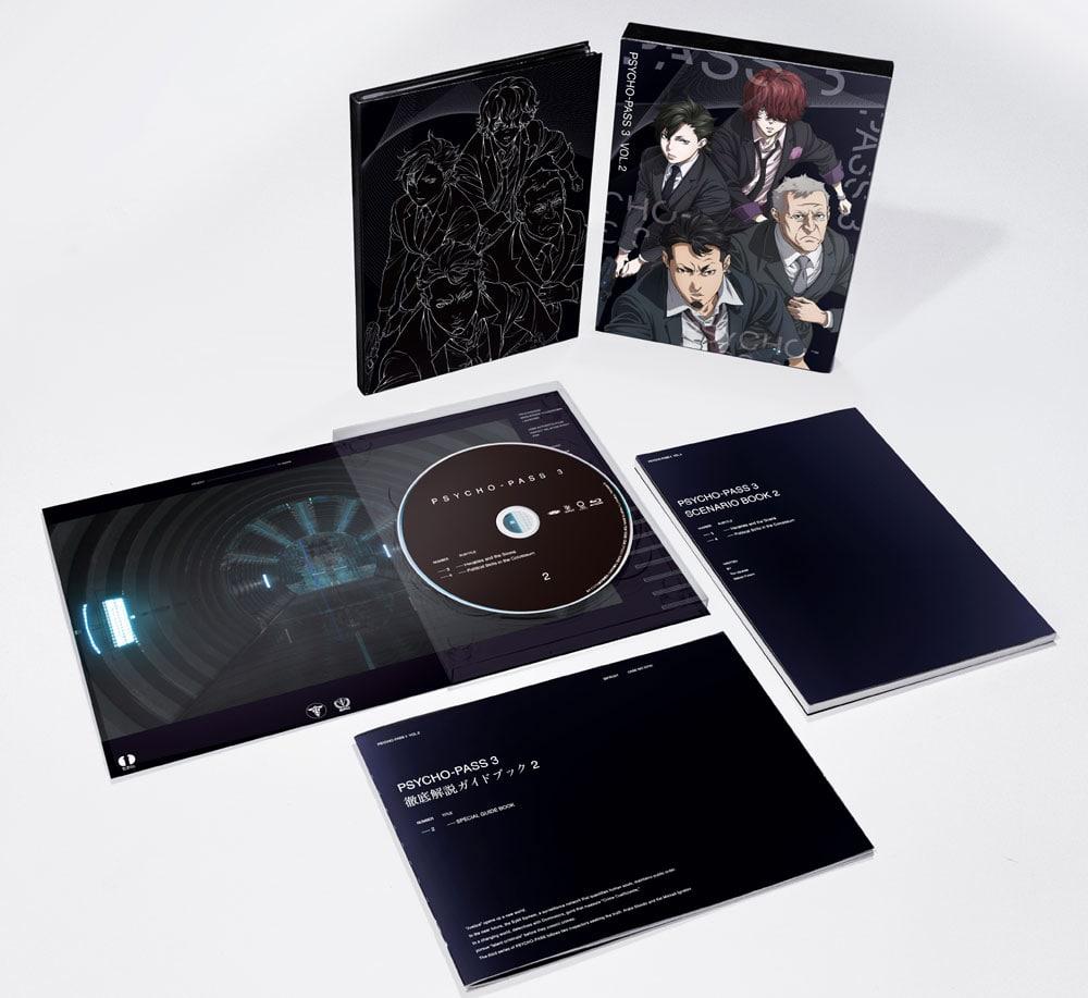 PSYCHO-PASS サイコパス 3 Vol.2 Blu-ray 初回生産限定版