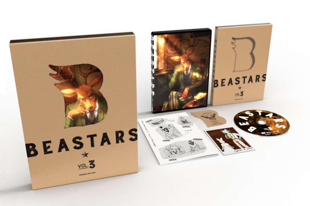 BEASTARS Vol.3 Blu-ray 初回生産限定版