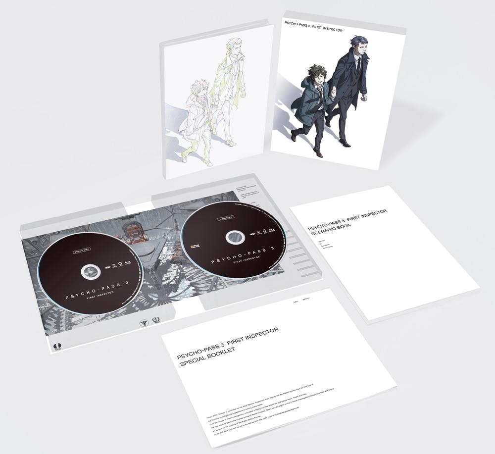PSYCHO-PASS サイコパス 3 FIRST INSPECTOR Blu-ray 初回生産限定版