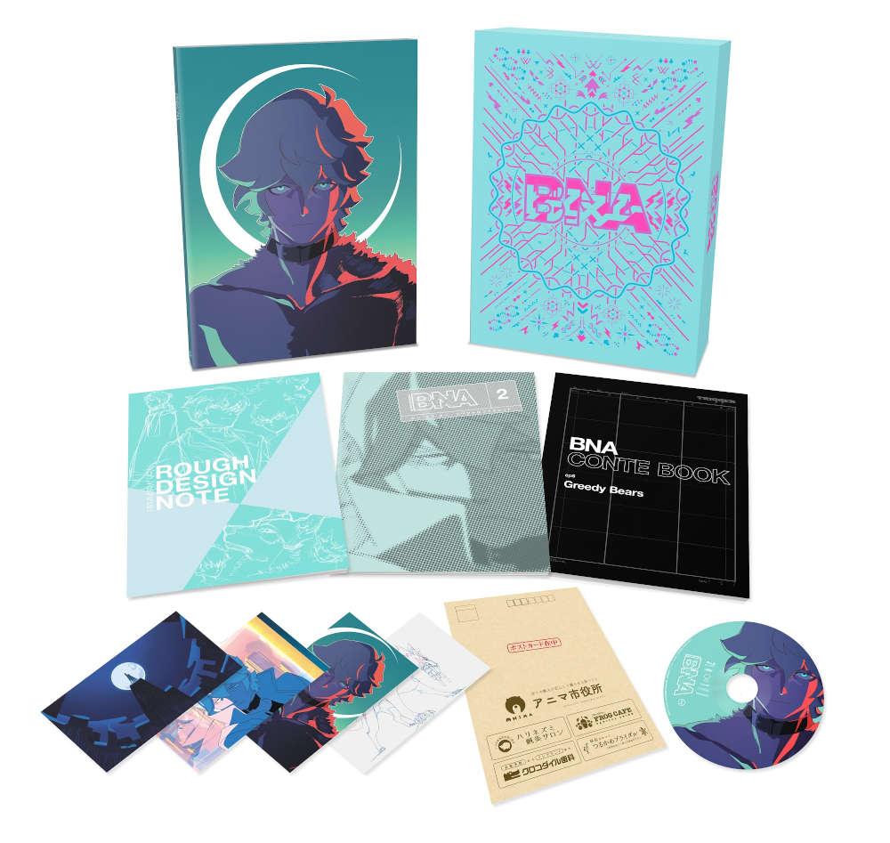 アニメ「BNA ビー・エヌ・エー」 Vol.2 Blu-ray 初回生産限定版