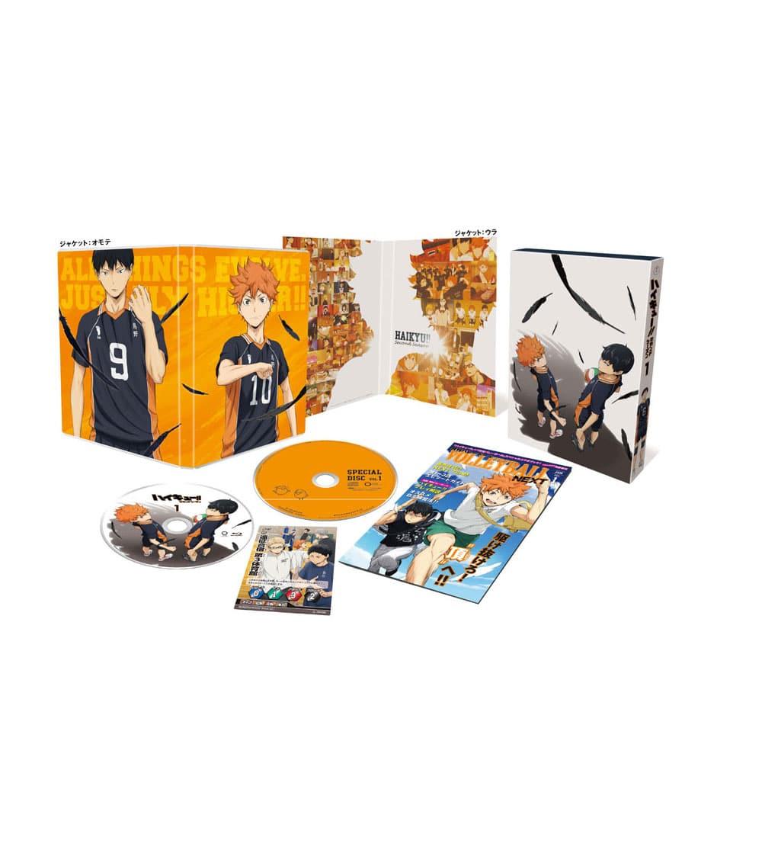 ハイキュー!! セカンドシーズン Vol.1 DVD 初回生産限定版
