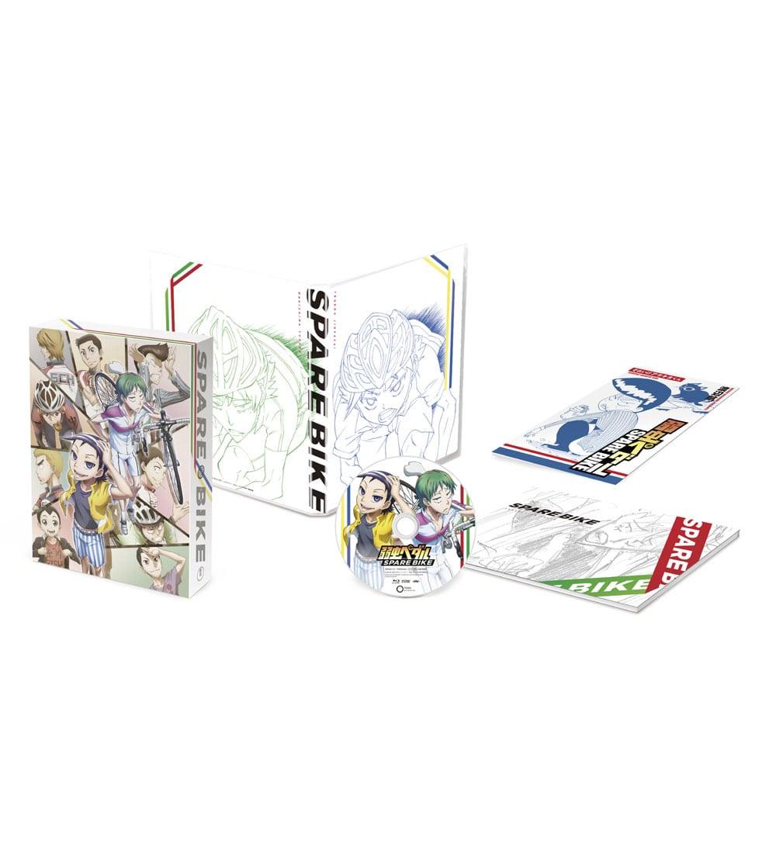 弱虫ペダル SPARE BIKE DVD 初回生産限定版 TOHOanimationSTORE限定版 描き下ろしそれいけアラキタくんVer.