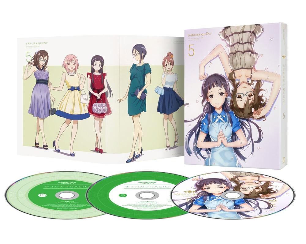 サクラクエスト Vol.5 DVD 初回生産限定版