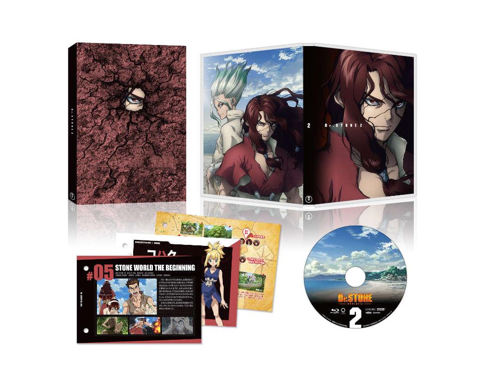 Dr.STONE ドクターストーン Vol.2 DVD【初回生産限定版】