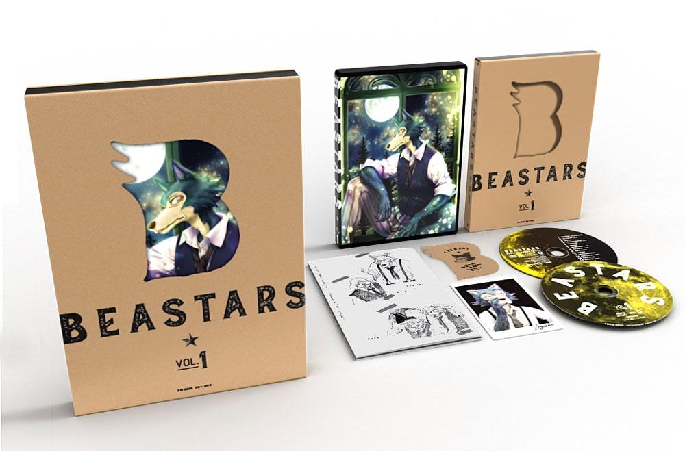 BEASTARS Vol.1 DVD 初回生産限定版