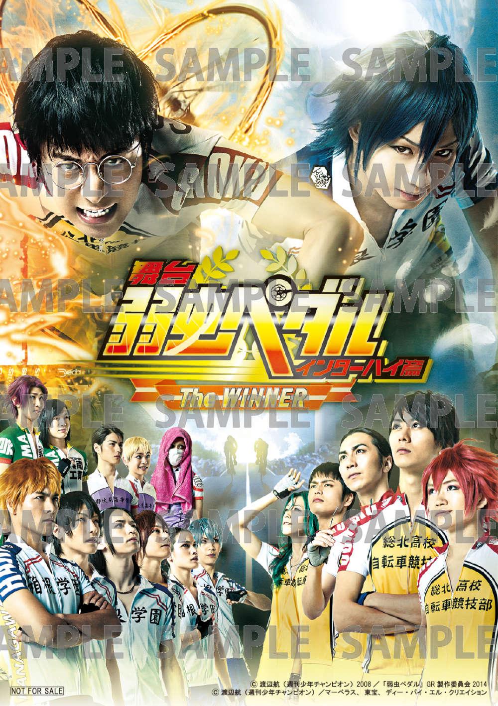 舞台『弱虫ペダル』インターハイ篇 The WINNER DVD