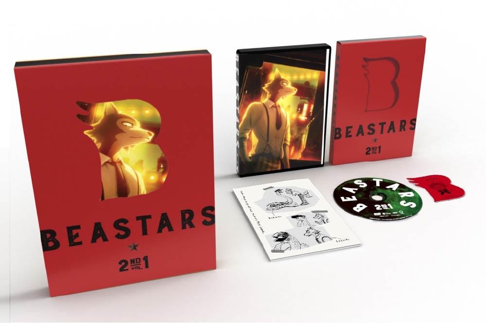 BEASTARS 2nd Vol.1 DVD 初回生産限定版