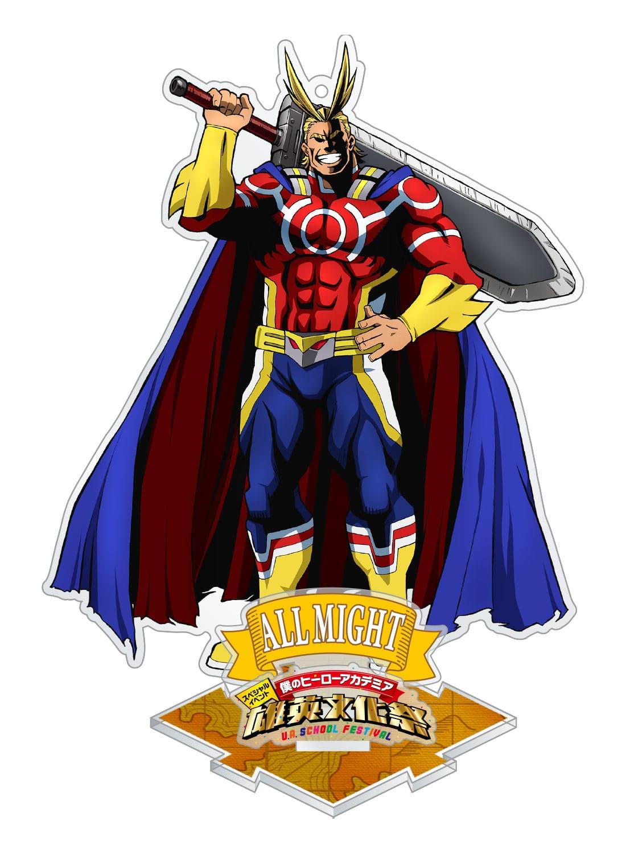 僕のヒーローアカデミア 「雄英文化祭」アクリルスタンドキーホルダー オールマイト