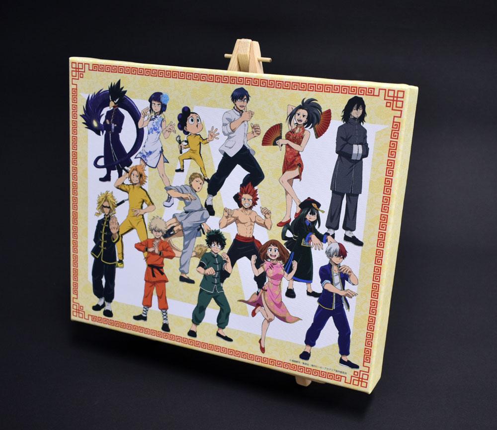 僕のヒーローアカデミア 描き下ろしキャンバスアート&イーゼルセット カンフーコスチューム