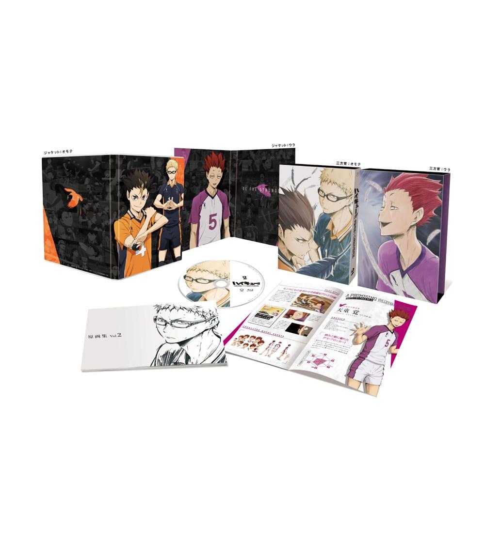 ハイキュー!! 烏野高校 VS 白鳥沢学園高校 Vol.2 Blu-ray 初回限定版