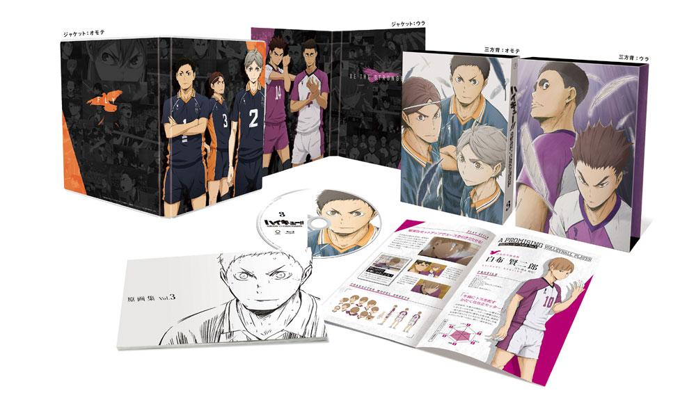 ハイキュー!! 烏野高校 VS 白鳥沢学園高校 Vol.3 DVD 初回限定版