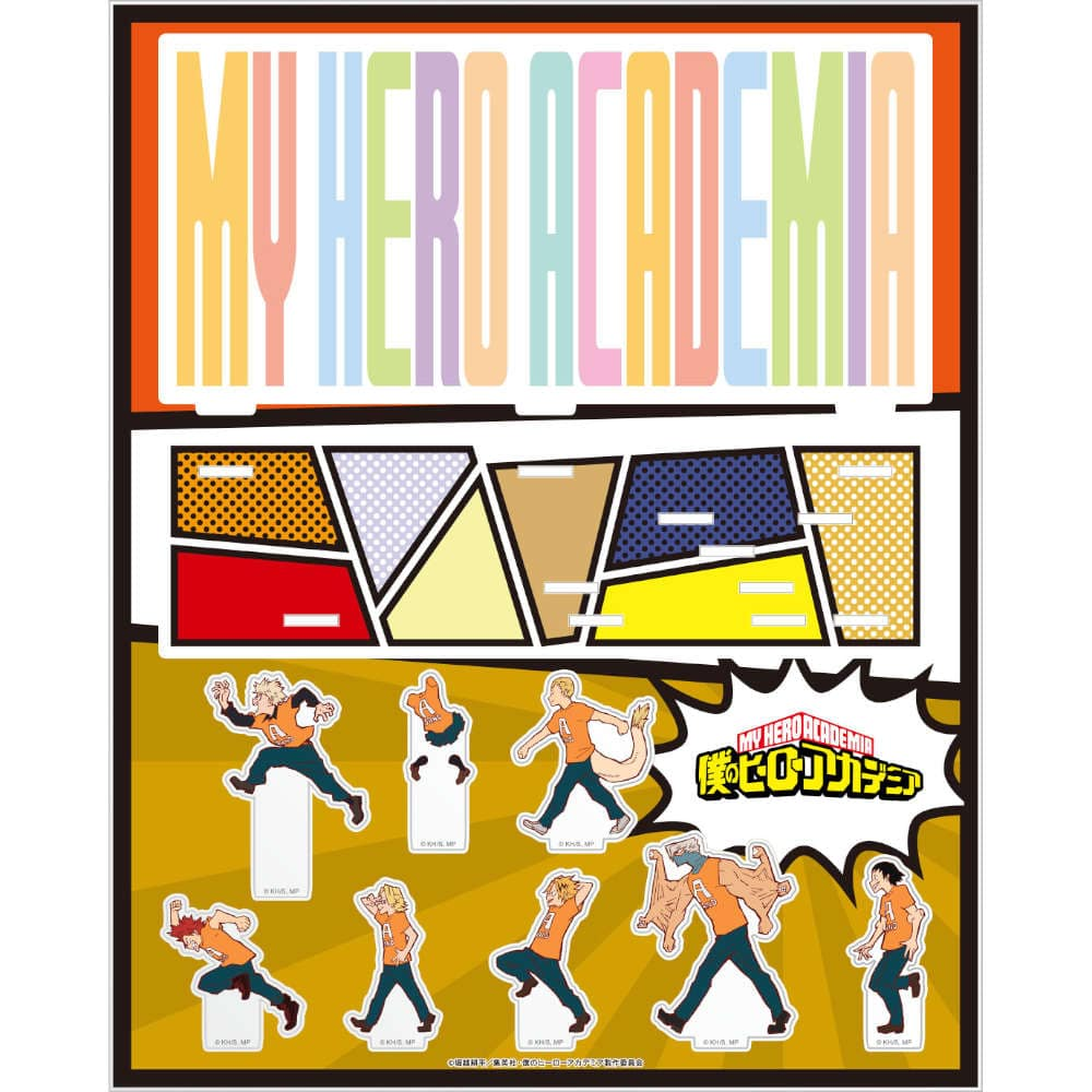 僕のヒーローアカデミア アクリルジオラマ 文化祭 C