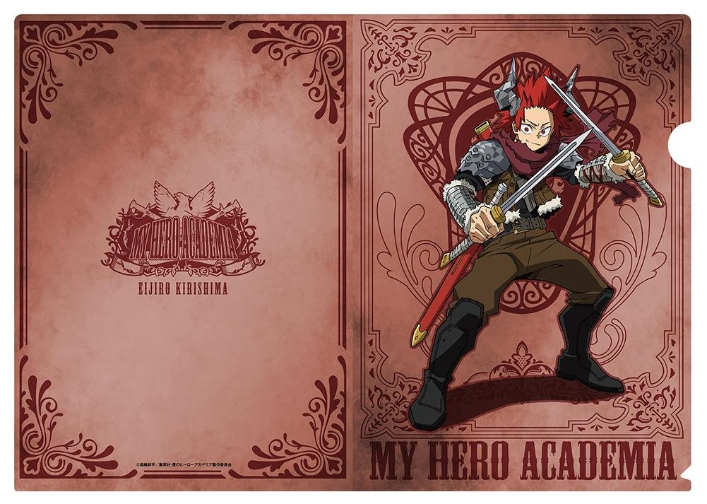 僕のヒーローアカデミア クリアファイル3枚セット 十傑コスチューム 第二弾 A