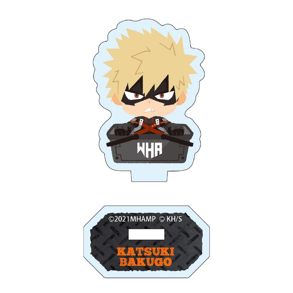 「僕のヒーローアカデミア THE MOVIE ワールド ヒーローズ ミッション」 カゴコレ アクリルスタンドセット(緑谷出久、爆豪勝己、轟焦凍)