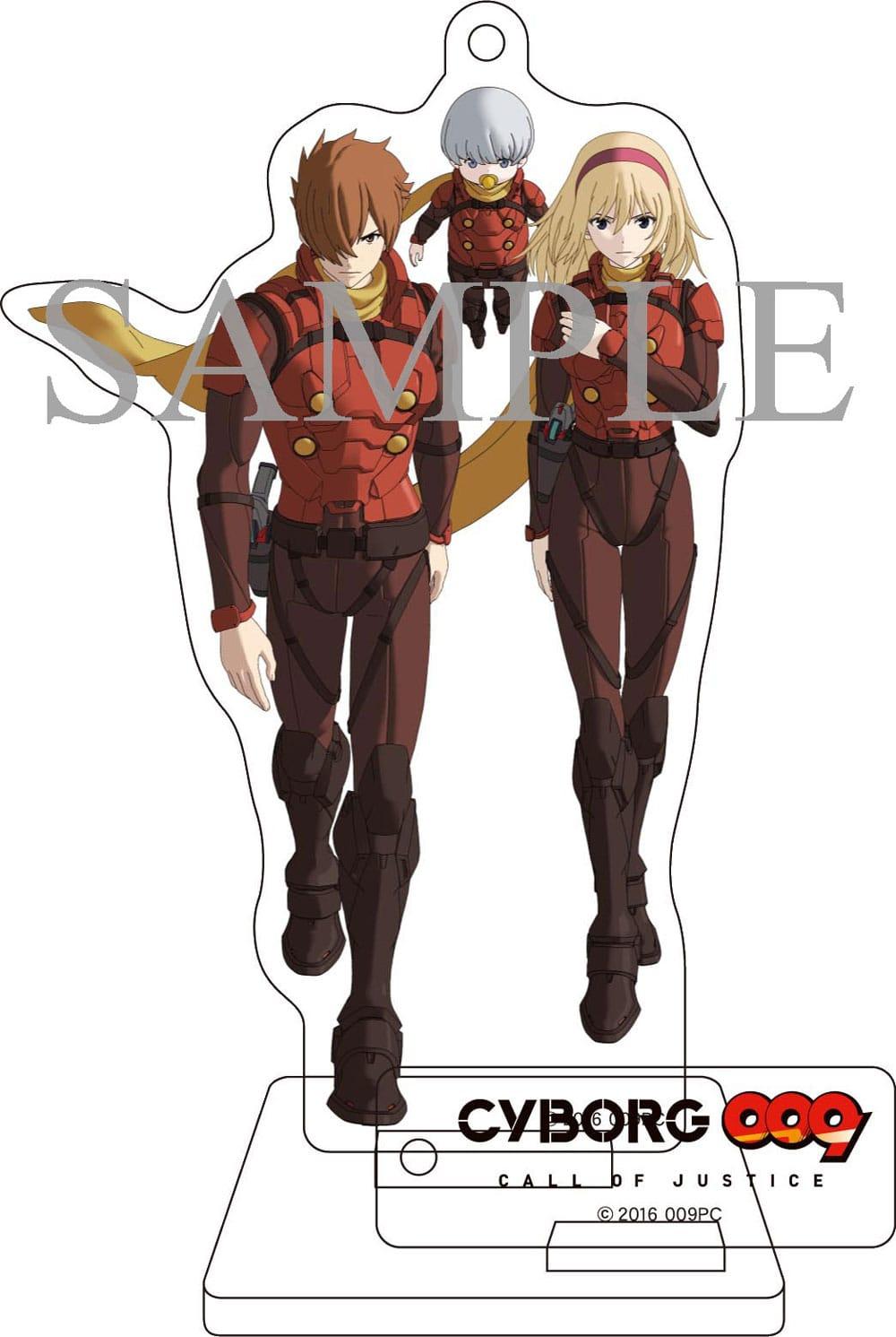 【TOHO animation STORE 限定版】CYBORG009 CALL OF JUSTICE Vol.1 Blu-ray 初回生産限定版+オリジナルアクリルスタンディセット