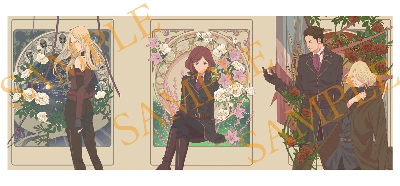 【TOHO animation STORE 限定版】Fairy gone フェアリーゴーン Blu-ray Vol.2+ミニキャラアクリルキーホルダー&ミニ小説セット