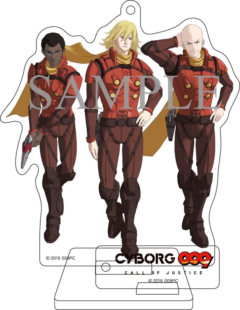 【TOHO animation STORE 限定版】CYBORG009 CALL OF JUSTICE Vol.2 DVD 初回生産限定版+オリジナルアクリルスタンディセット
