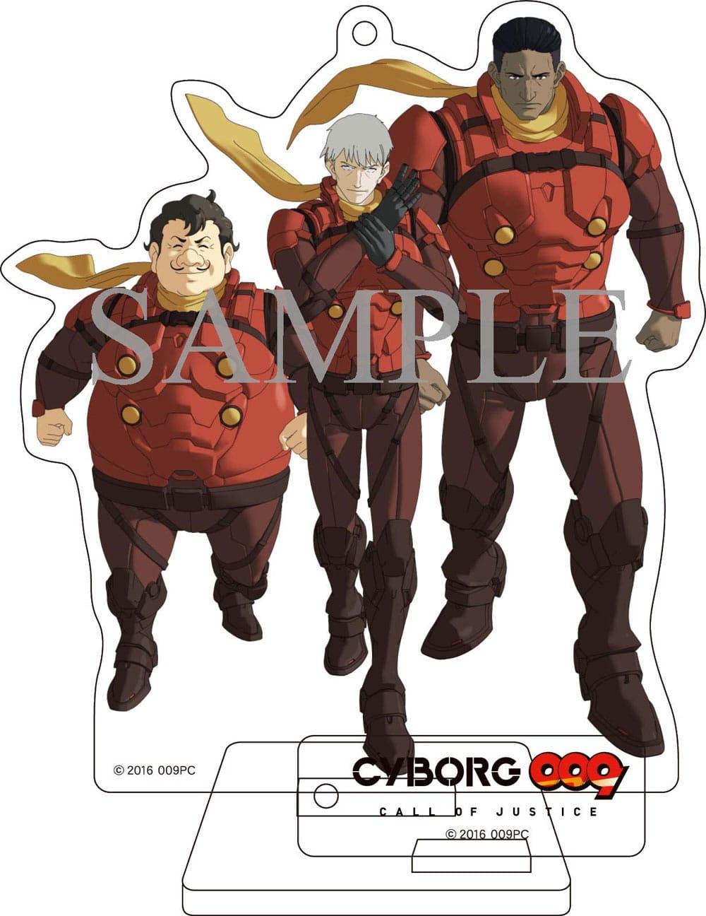 【TOHO animation STORE 限定版】CYBORG009 CALL OF JUSTICE Vol.3 DVD 初回生産限定版+オリジナルアクリルスタンディセット