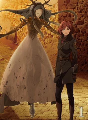 【TOHO animation STORE 限定版】Fairy gone フェアリーゴーン Blu-ray Vol.1+ミニキャラアクリルキーホルダー&ミニ小説セット