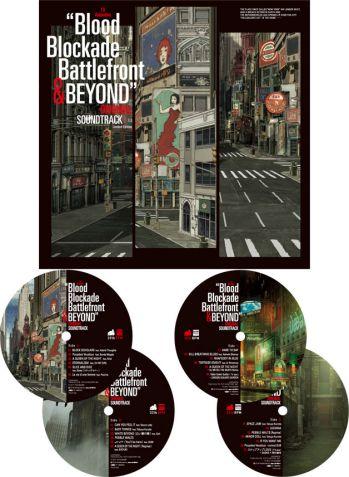 TVアニメ「血界戦線 & BEYOND」 オリジナルサウンドトラック Limited Edition【LP】