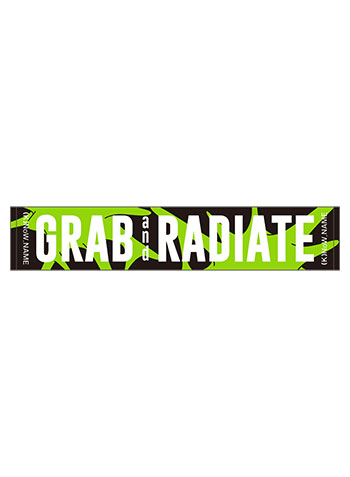 """(K)NoW_NAME 3rd Live """"GRAB and RADIATE"""" マフラータオル"""