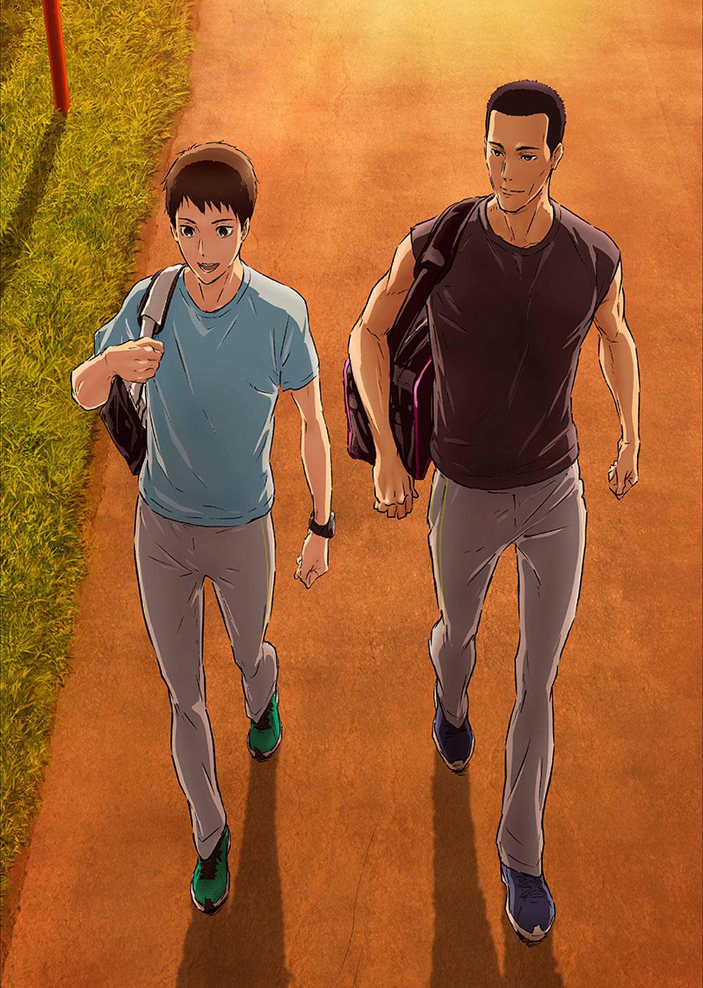 アニメ「風が強く吹いている」 Vol.7 Blu-ray 初回生産限定版