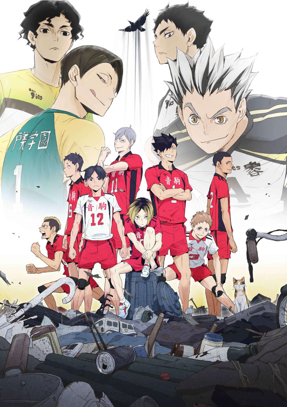 ハイキュー!! OVA『ハイキュー!! 陸 VS 空』 DVD 初回生産限定版