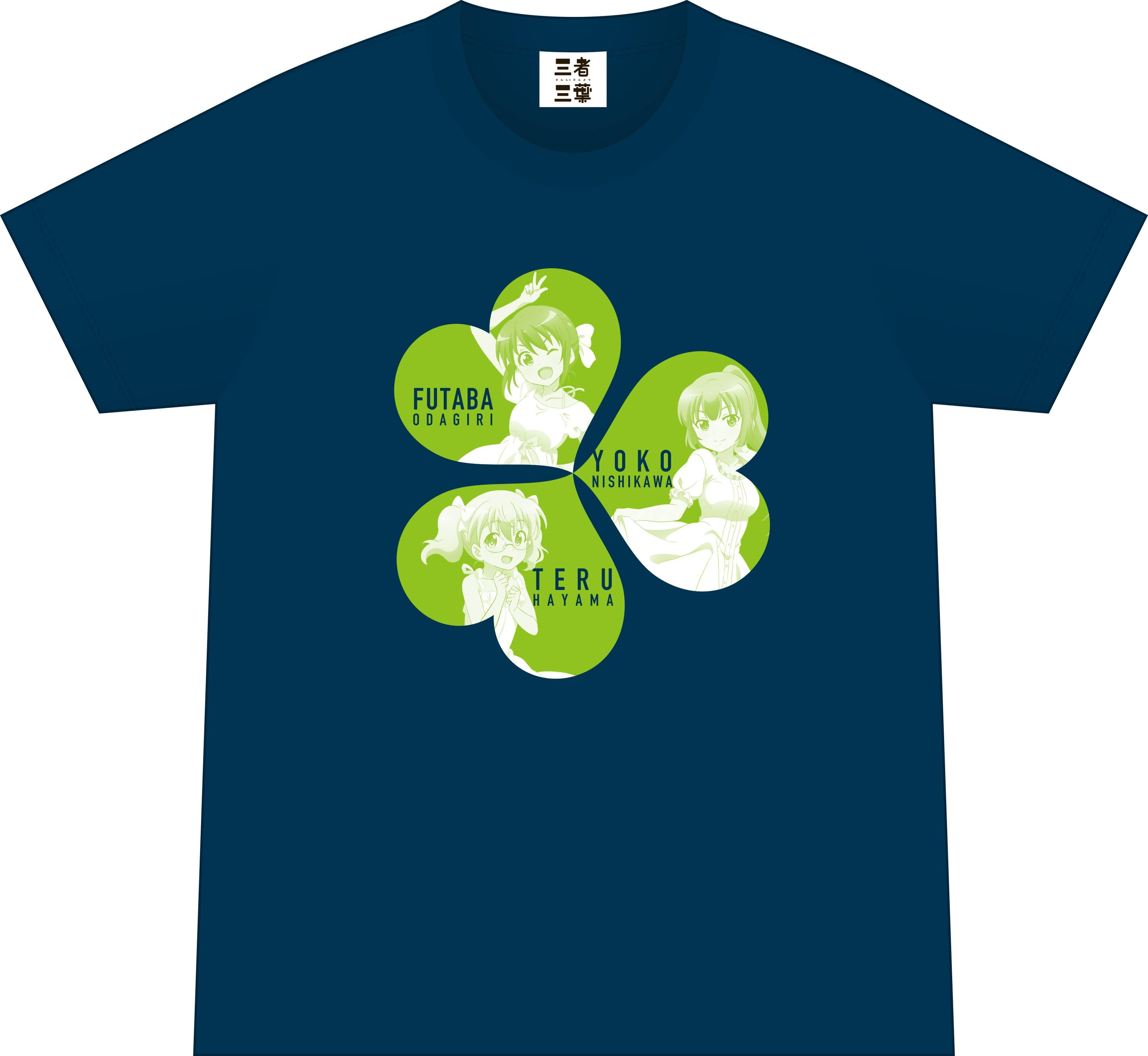 三者三葉 ライブイベントグッズ Tシャツ Lサイズ
