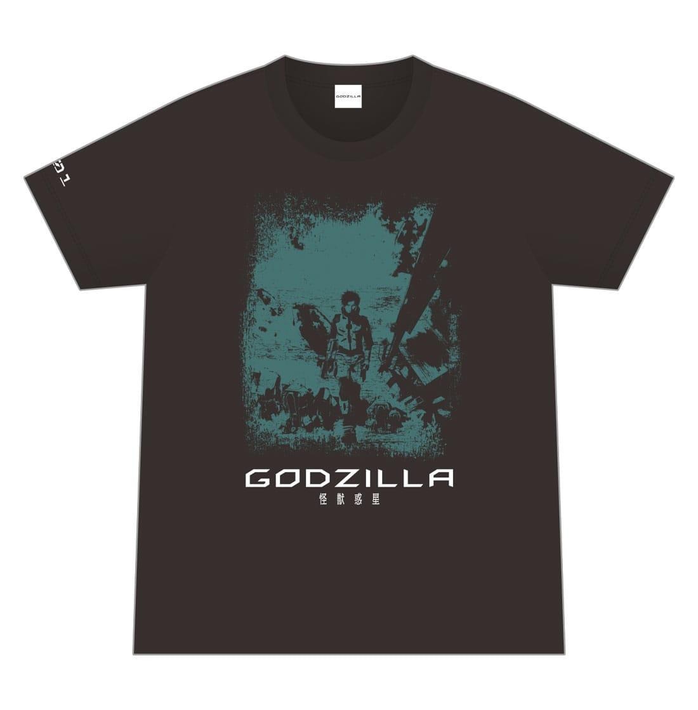 映画「GODZILLA 怪獣惑星」 オリジナルTシャツ/001 <Lサイズ>