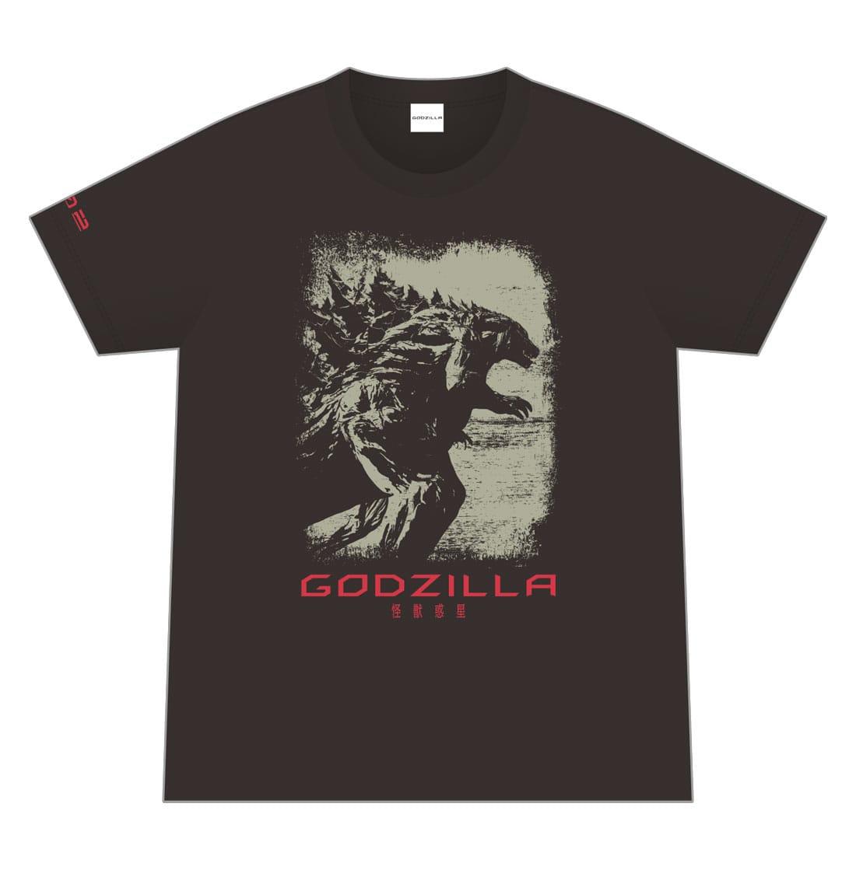 映画「GODZILLA 怪獣惑星」 オリジナルTシャツ/002 <Lサイズ>
