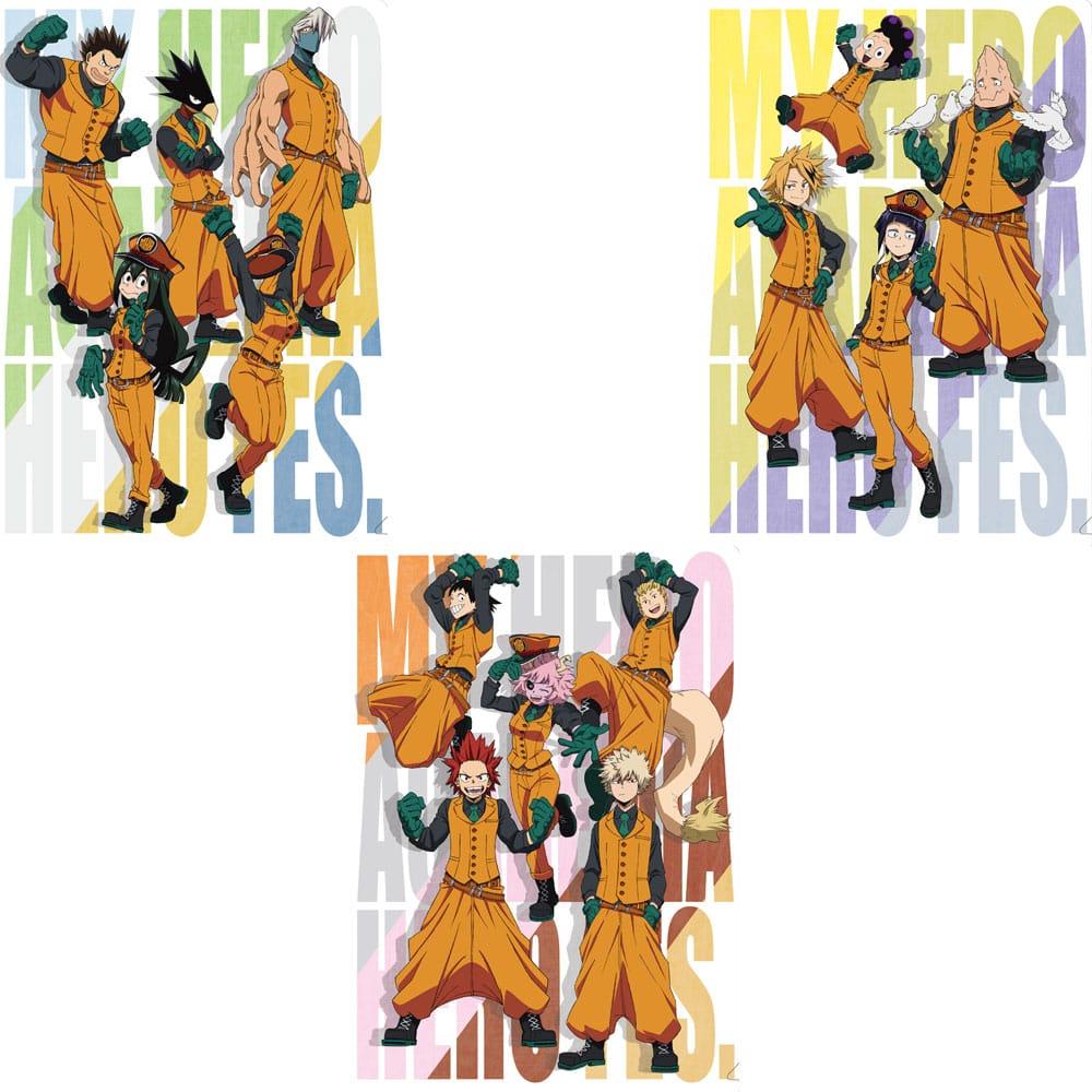 僕のヒーローアカデミア 「HERO FES.<ヒーロー・フェス>」 クリアファイル3枚セット B
