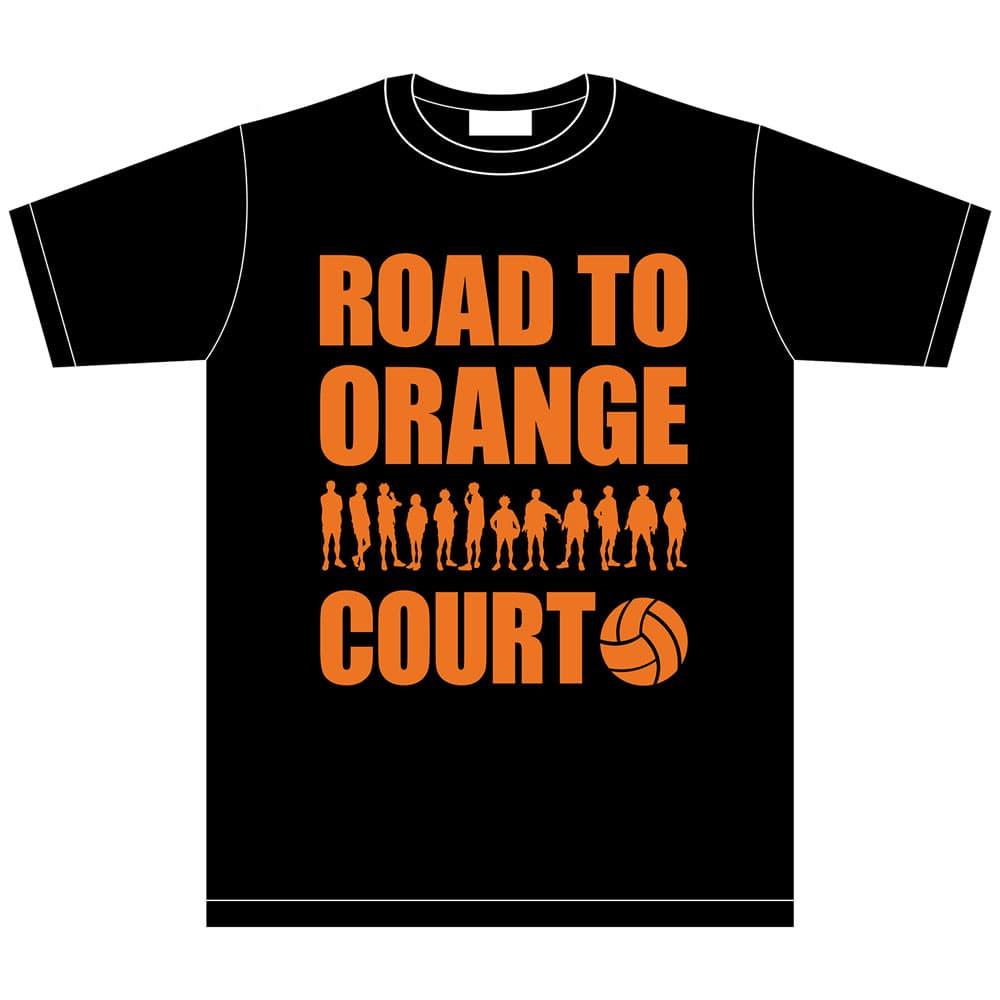 ハイキュー!! 「全国大会への道」 イベントTシャツ