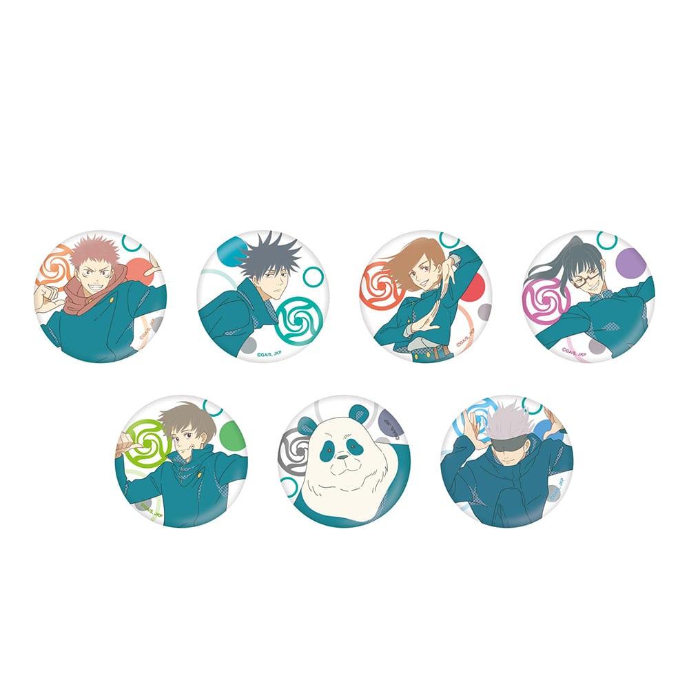 呪術廻戦 じゅじゅフェス 2021 トレーディング缶バッジ【全7種】ランダム4個セット