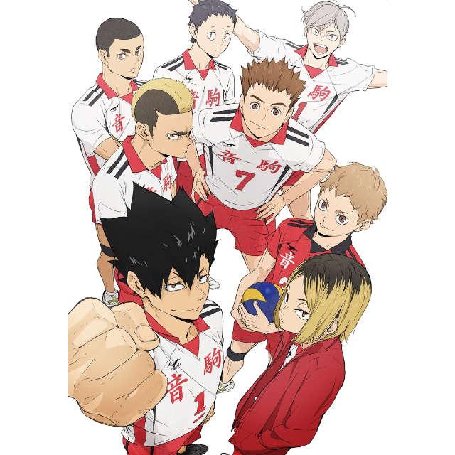 ハイキュー!! TO THE TOP Vol.5 Blu-ray 初回生産限定版