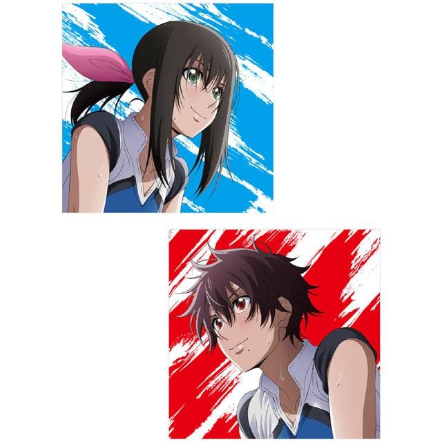 TVアニメ『はねバド!』 OPテーマ「ふたりの羽根」(アニメ盤)+EDテーマ「ハイステッパー」(アニメ盤)セット【CD】