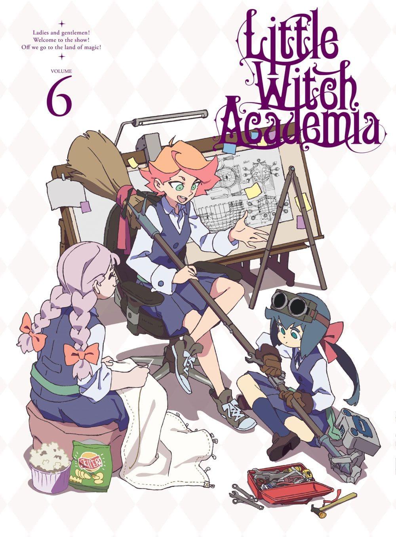 TVアニメ「リトルウィッチアカデミア」Vol.6 DVD 初回生産限定版