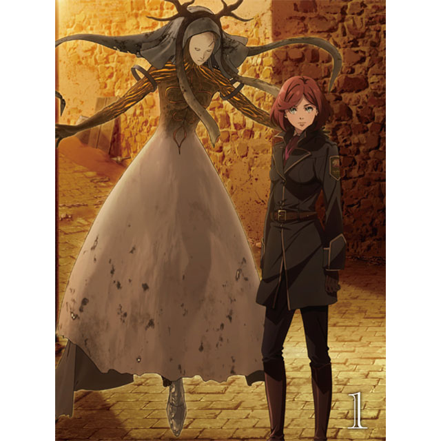 【TOHO animation STORE 限定版】Fairy gone フェアリーゴーン DVD Vol.1+ミニキャラアクリルキーホルダー&ミニ小説セット