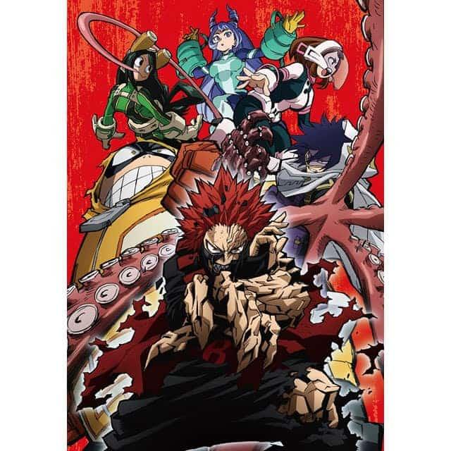 僕のヒーローアカデミア 4th Vol.2 DVD 初回生産限定版