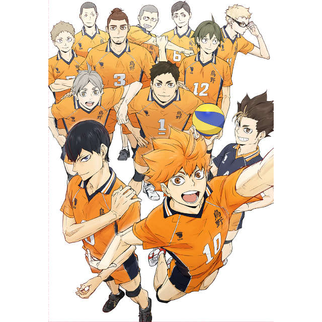 ハイキュー!! TO THE TOP Vol.6 DVD 初回生産限定版