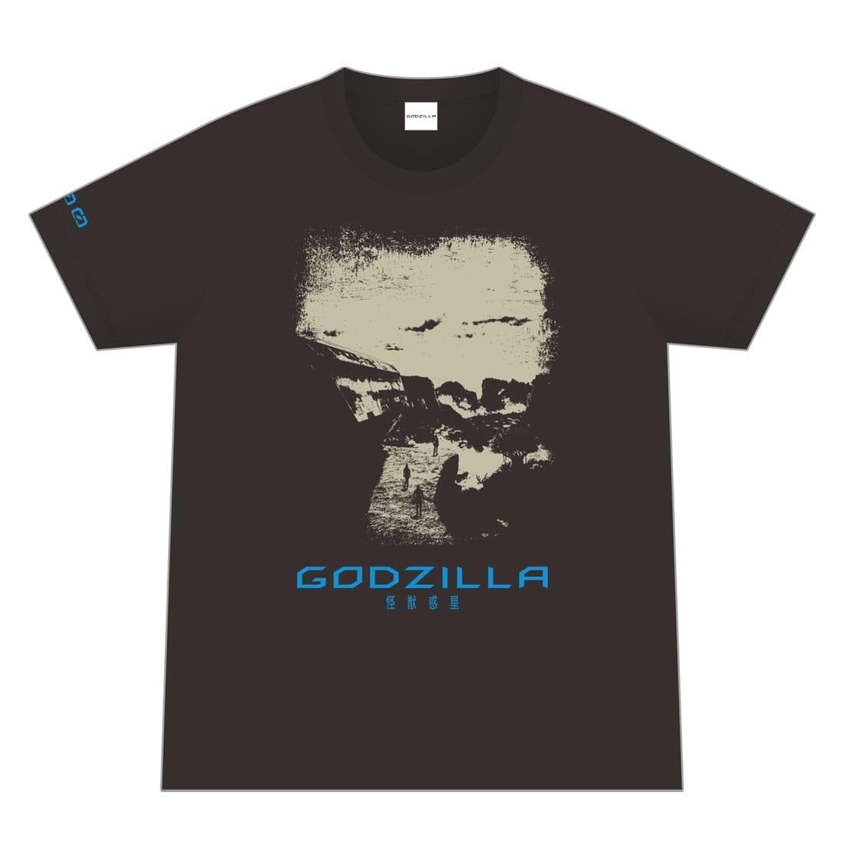 映画「GODZILLA 怪獣惑星」 オリジナルTシャツ/000 <Lサイズ>