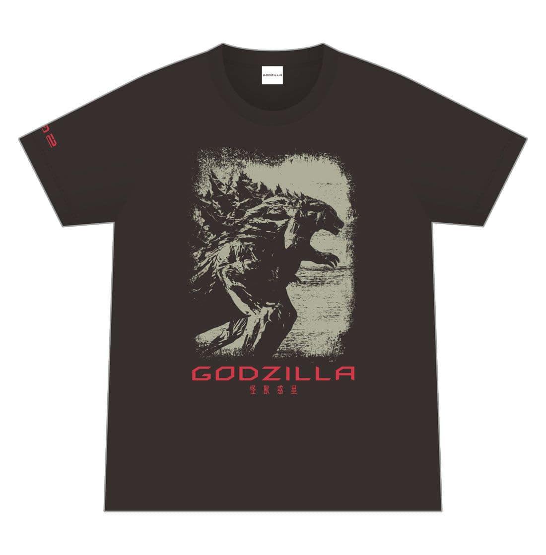 映画「GODZILLA 怪獣惑星」 オリジナルTシャツ/002 <Mサイズ>