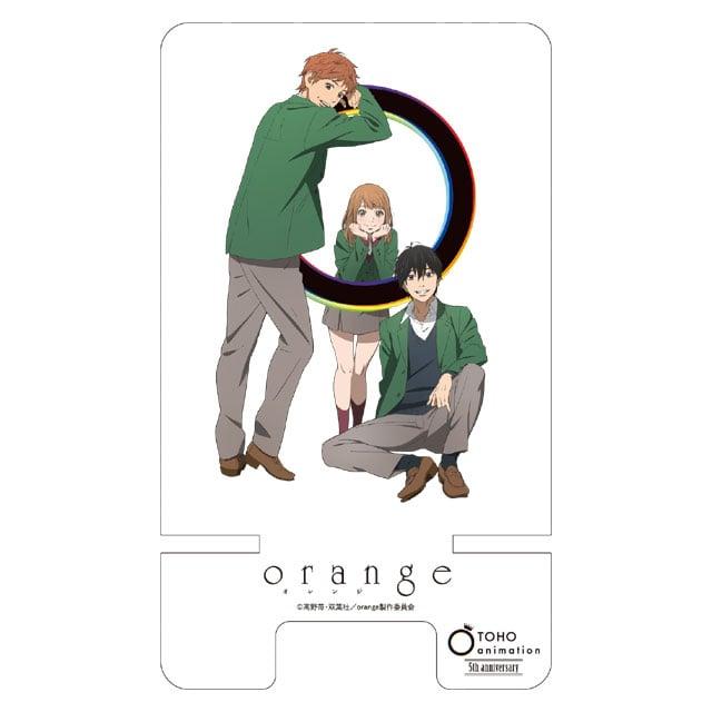 TOHO animation 5周年記念 アクリルスマートフォンスタンド:orange