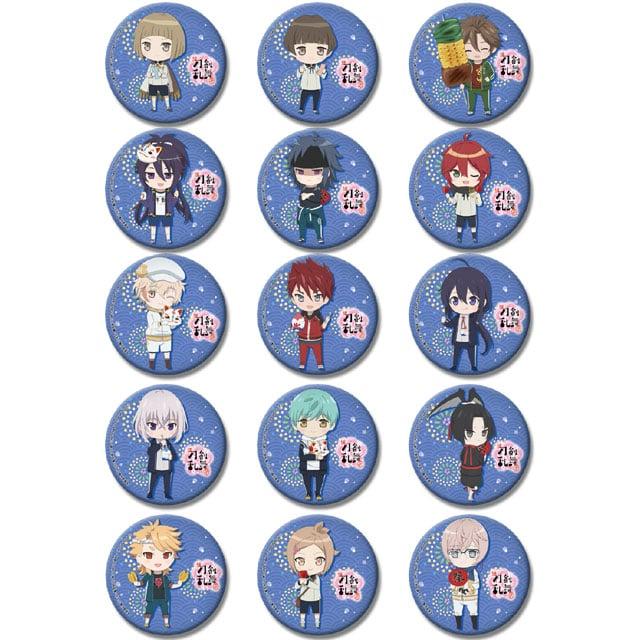 続『刀剣乱舞-花丸-』 四季コレクション-夏- トレーディング缶バッジ【全15種】 ランダム5個セット