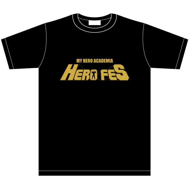 僕のヒーローアカデミア 「HERO FES.<ヒーロー・フェス>」 イベントTシャツ